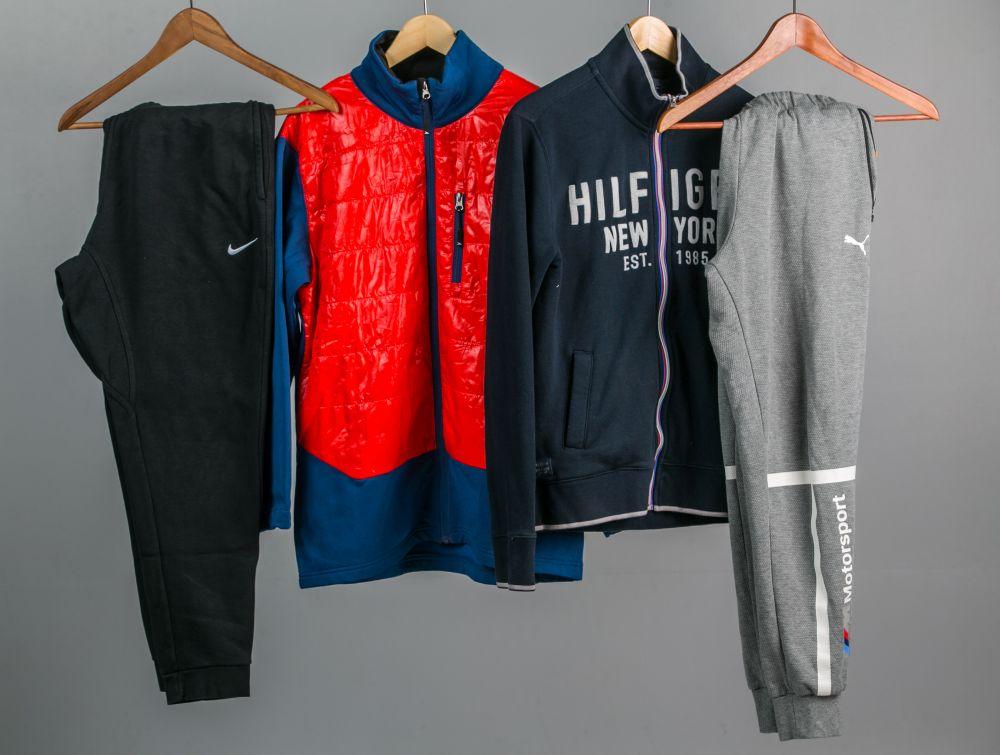 használt márkás ruha melegítő